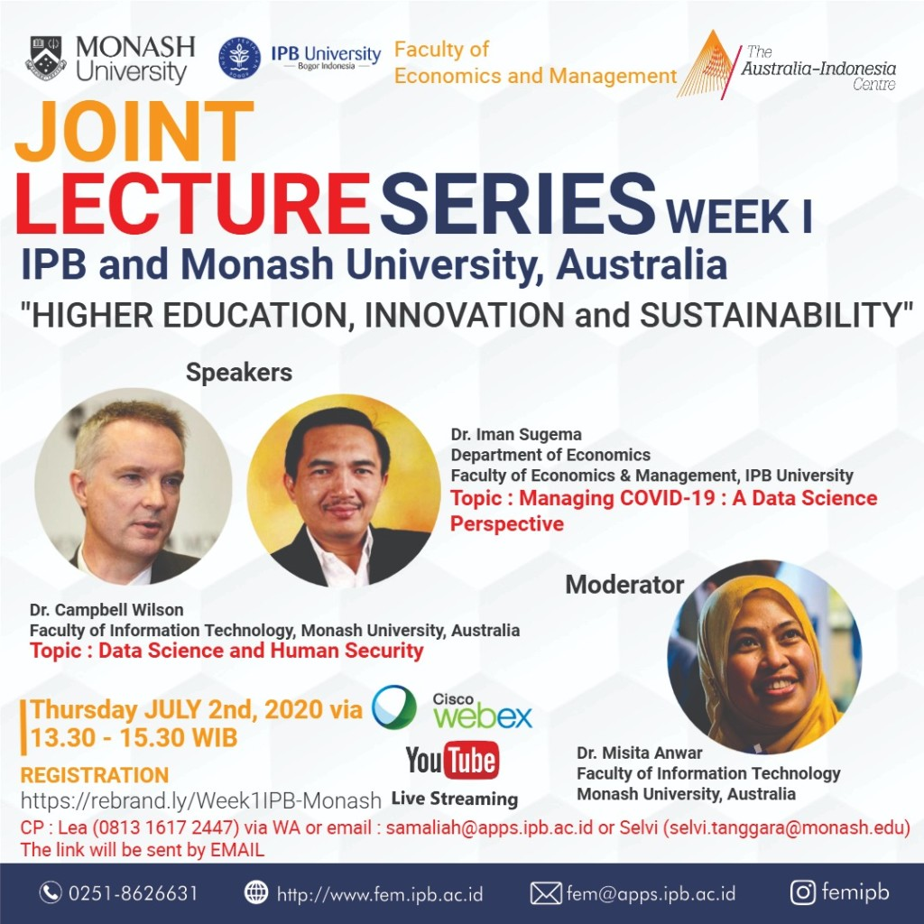 Joint Lecture Series